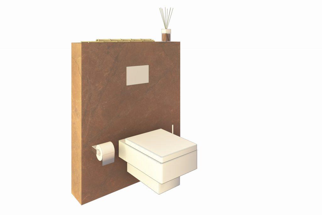 WC Badmoebel freigestellt